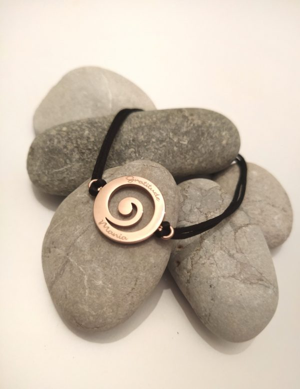 Gratitude Bracelet – Rose Gold